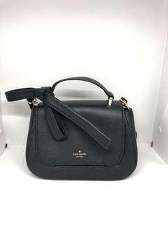 Kate Spade Bow sling bag in black