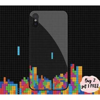 Tetris Puzzle Game iPhone/Huawei/Oppo/Samsung Case