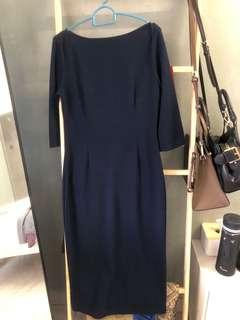 Navyblue dress