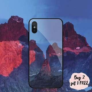 Red Dried Mountains iPhone/Huawei/Oppo/Samsung Case Casing