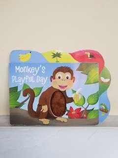 BUKU ANAK : Monkey's Playful
