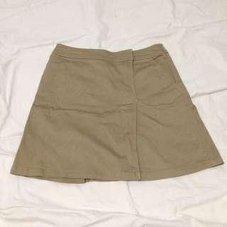 Brown Nude Skirt