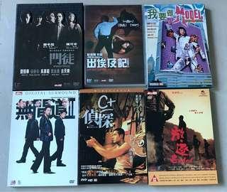 DVD 11盒+CD 6盒