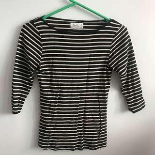 Zara stripes top