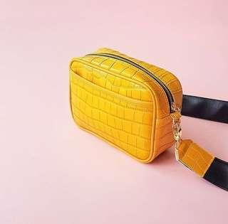 RUBBY SLING BAG YELLOW