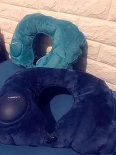 新款水晶絨布按壓充氣枕