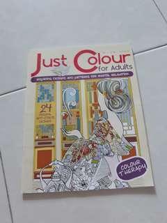 Buku mewarna dewasa Coloring book
