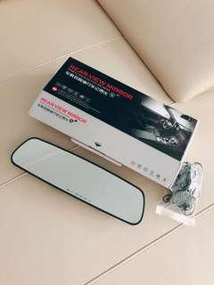 Vehicle Rear View Mirror with Data Recording