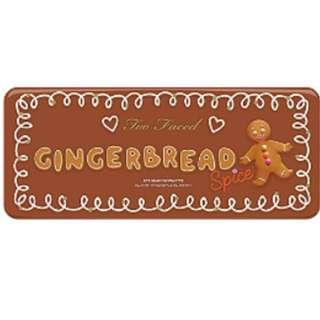 [現貨在台][美國代購] TOO FACED 薑餅人18色眼影盤聖誕限量Gingerbread Spice Eyeshadow Palette