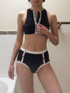 sports top and swimwear size 6 xs