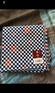 日本製手帕共二條