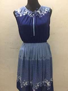 Embroidery alike vintage  Dress
