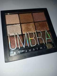 Umbra Eyeshadow by JustMiss shade teast