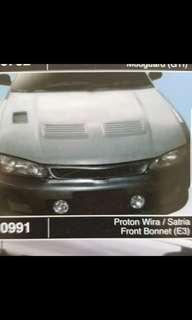 Proton Wira EVO 3 bonnet