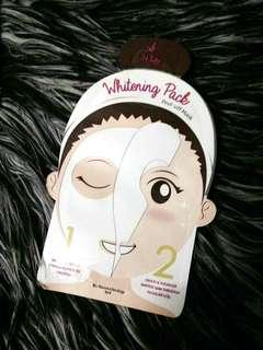 Iwhite Korea whitening pack peel off mask