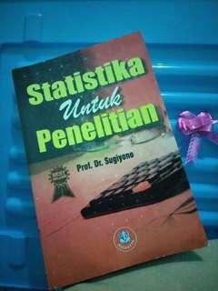 Statistika untuk penelitian (Sugiyono)