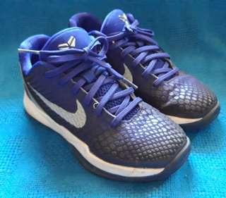 Auth Nike Kobe VI Black Mamba 3Y / 5womens