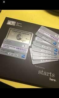 迎新送$6400 機票或者酒店消費額 免入息證明  美國運通白金卡💳 American Express Platinum Card