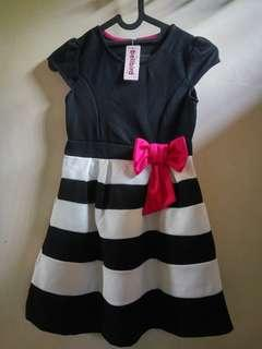 Dress New, simple but cute, size 7-8 tahunan