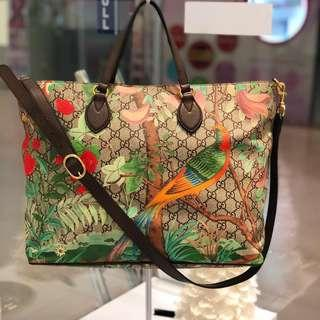 🌈Good Deal!🌈 Gucci Tian Tote Bag with Long Strap