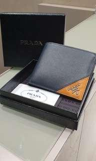 Authentic Prada men wallet