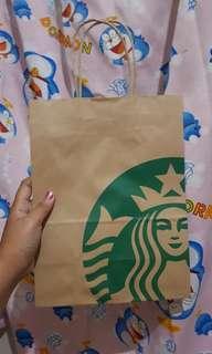 Paperbag Starbucks