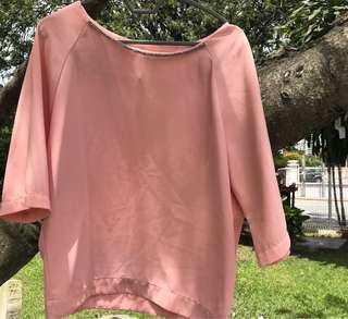 Padini Pink Blouse #SINGLES1111