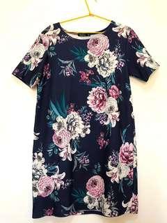 Floral Spring Shift Dress