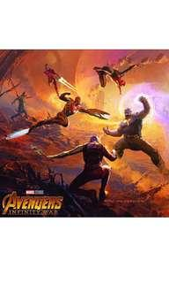 Marvel's Avengers Infinity War-The Art of the Movie(Hard cover Visual/Art Book)