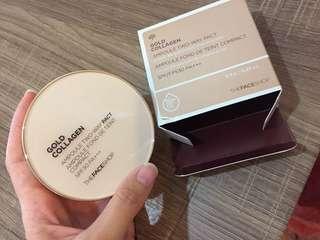 Gold collagen powder