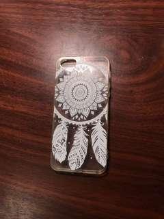 White Aztec Print Iphone 5/5s case