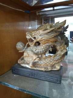 Batu ukir ular naga