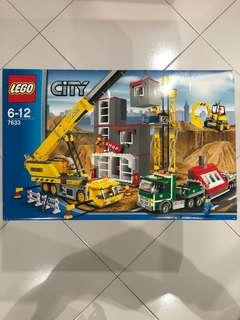 LEGO 7633 City Construction Site (factory sealed bags)