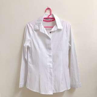 White formal shirt #SINGLES1111