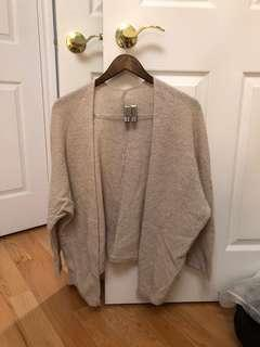 Brandy melville knit cardigan (one size)
