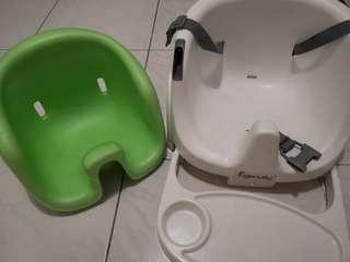 Ingenuity Baby Base Booster Seat green