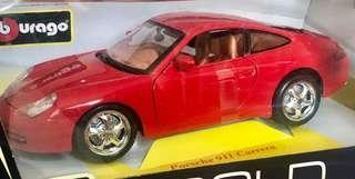 Bburago Porsche 911 Carrera 1:18
