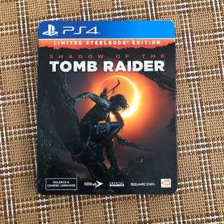 PS4 Shadow of the Tomb Raider Limited Steelbook Edition