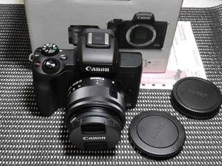 Kamera canon m50 fullset