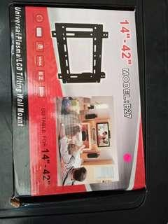 Universal plasma/lcd tilting wall mount