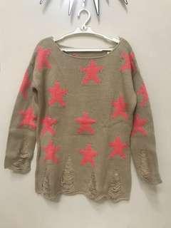 Terranova Knitted Stars
