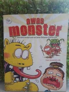 Buku edukasi anak - awas kuman