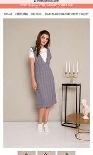 Bnwt Pinafore Dress by The Stage Walk