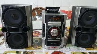 Sony Cd  Cassatte player