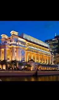 🚚 DEC NETT PRICE FULLERTON HOTEL PREMIER COURTYARD ROOM