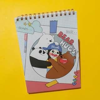 We Bare Bears Sketchbook
