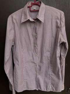Uniqlo Formal Shirt With Stripe