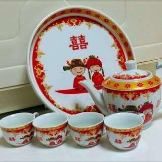 Chinese Bridal Tea Set Tea Ceremony Set