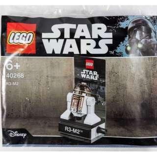 包平郵 全新 LEGO 40268 Star Wars Rogue One R3-M2