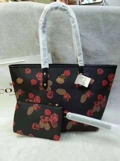 Tote Bag with pouch 💞
